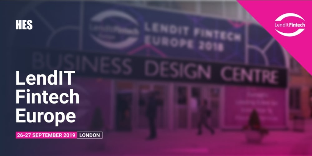 HES to Participate in LendIt Fintech Europe 2019