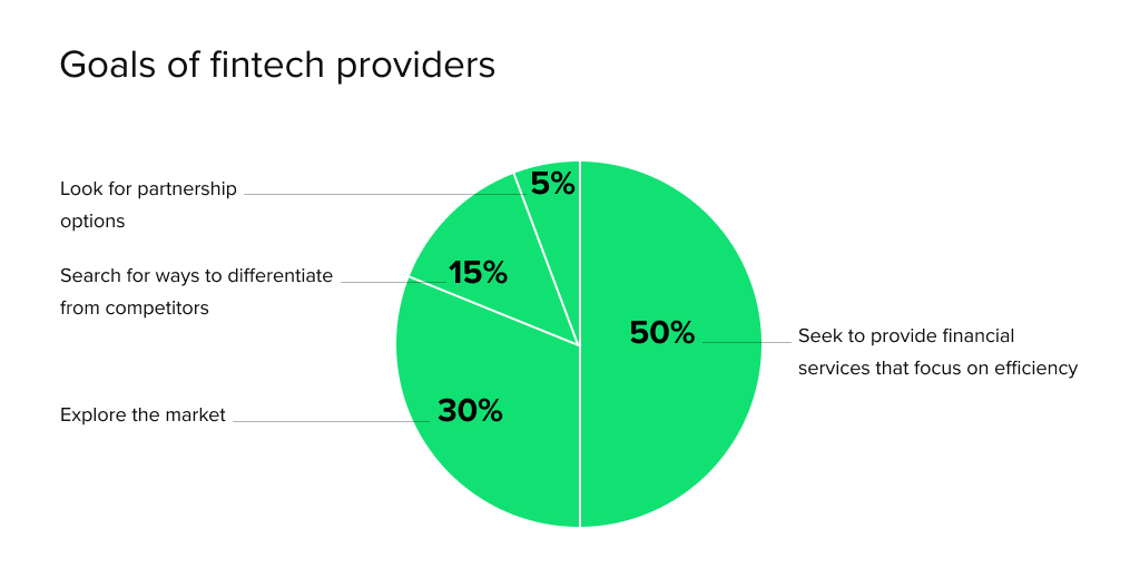 Goal of fintech providers in the Middle East by HES FinTech